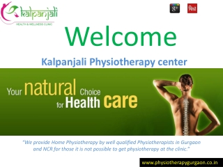 Physiotherapy Clinic in Gurgaon