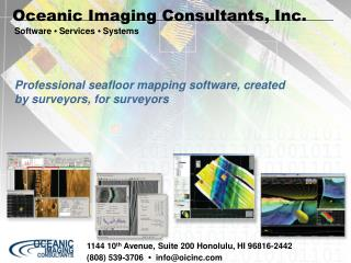 Oceanic Imaging Consultants, Inc.