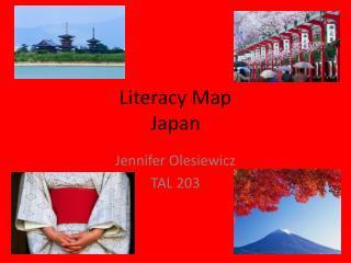 Literacy Map Japan