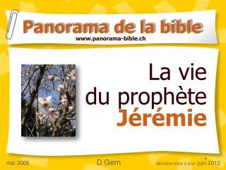 La vie  du proph te  J r mie