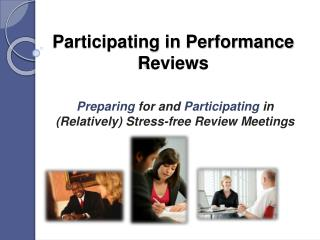 Participating in Performance Reviews