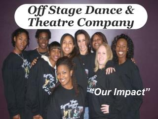 Off Stage Dance  Theatre Company