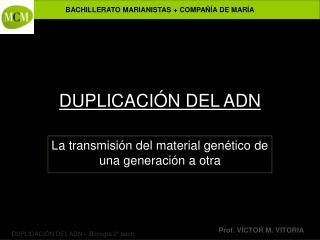 DUPLICACI N DEL ADN
