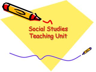 Social Studies Teaching Unit