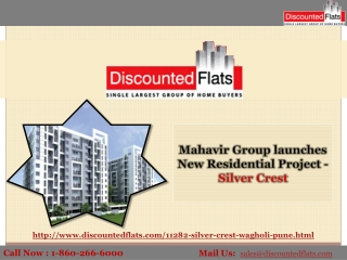 Best Offers On 2BHK Apartments in Wagholi - Silver Crest