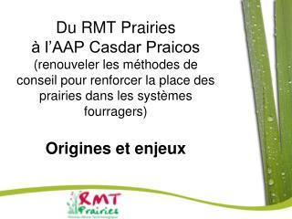 Du RMT Prairies    l AAP Casdar Praicos renouveler les m thodes de conseil pour renforcer la place des prairies dans les