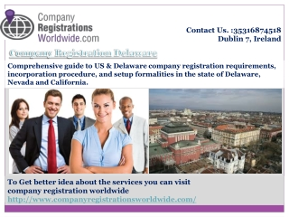 Company Registration Delaware