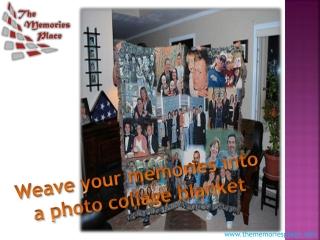 Photo Blanket