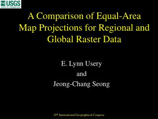 A Comparison of Equal-Area Map Projections for Regional and Global Raster Data