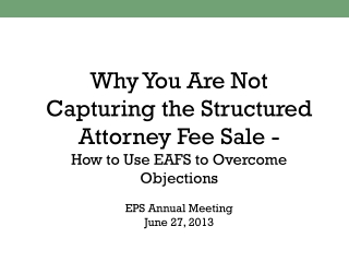Why You Are Not Capturing Attorney Fees