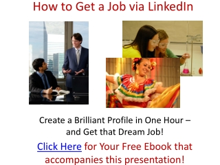How to Get Your Dream Job Through LinkedIn