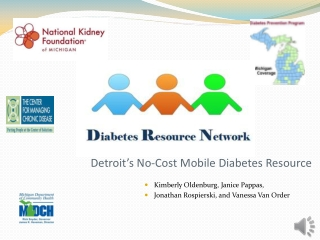 Improving Access to QualityDiabetes Education Wednesday ...