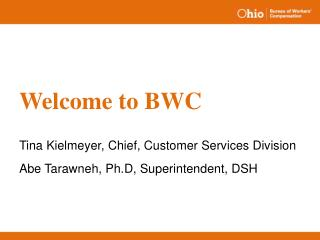 Welcome to BWC