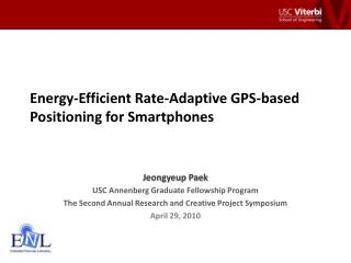 Energy-Efficient Rate-Adaptive GPS-based Positioning for Smartphones