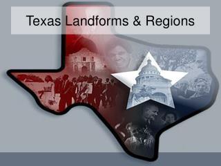 Texas Landforms  Regions