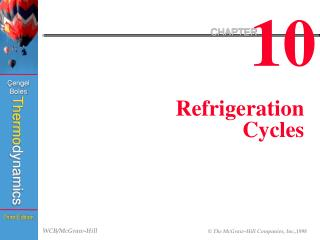 Refrigeration Cycles