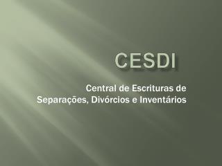 CESDI