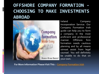 Offshore Company Formation