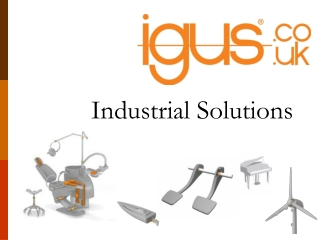 igus industrial solutions