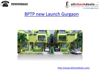 BPTP new Launch Gurgaon