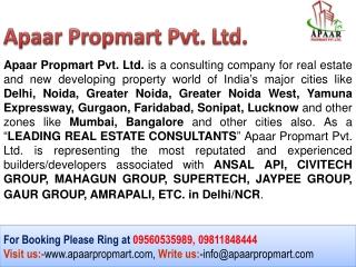 Original Booking Mahagun Noida New Project %% 09560535989