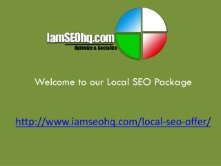 Local Search - SEO Marketing