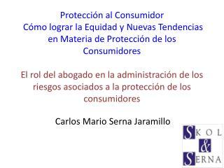 Protecci n al Consumidor  C mo lograr la Equidad y Nuevas Tendencias en Materia de Protecci n de los Consumidores  El ro