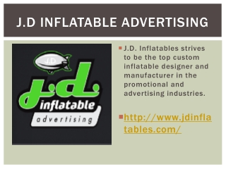 J.D. Inflatable Advertising - Home