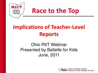 Implications of Teacher-Level Reports