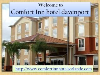 Comfort Inn hotel davenport