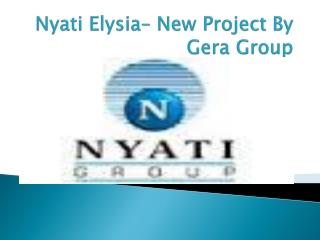 Nyati Elysia Pune - Luxury Apartments In Kharadi Pne