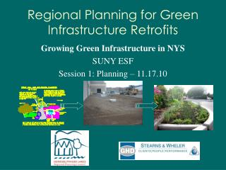 Regional Planning for Green Infrastructure Retrofits