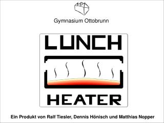 Ein Produkt von Ralf Tiesler, Dennis H nisch und Matthias Nopper