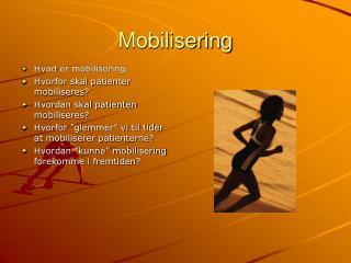 Mobilisering
