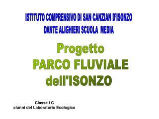 Progetto PARCO FLUVIALE dellISONZO