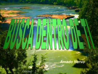 BUSCA DENTRO DE TI