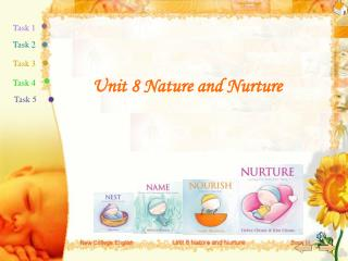 Unit 8 Nature and Nurture