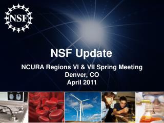 NSF Update
