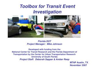 Florida DOT Accident Investigation