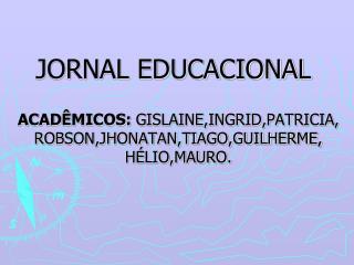 JORNAL EDUCACIONAL