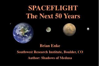 Brian Enke Southwest Research Institute, Boulder, CO Author ...
