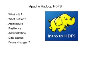 Introduction to Apache Hadoop HDFS