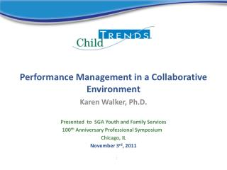 Performance Management in a Collaborative Environment