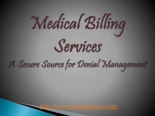 Medical Billing Service-Improves Revenue and Cash Flow