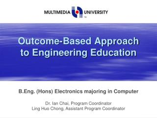 Outcome-Based Approach to Engineering Education