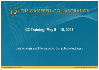 C2 Training: May 9   10, 2011