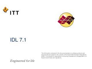 IDL 7.1