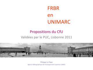 FRBR  en  UNIMARC