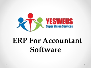 ERP For Accountant Software