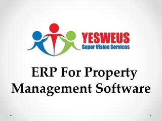 ERP for Property Management Software